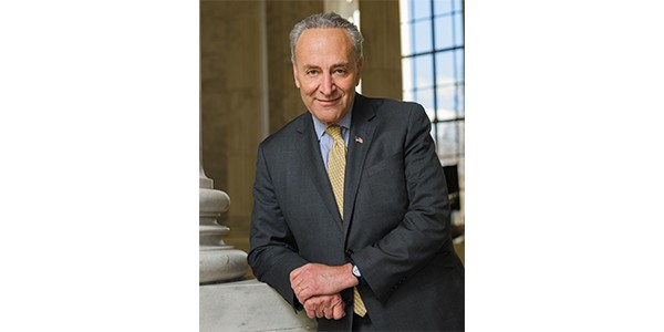 Senator Charles Schumer - Trump on the right track with